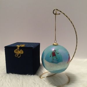 Pier 1 Imports - 2002 Collectible Glass Ornament